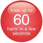 60 hair